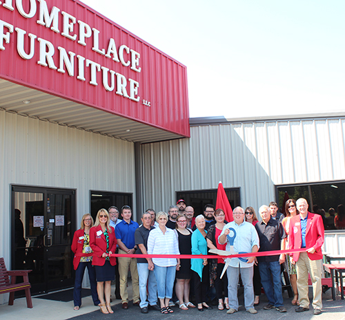 Home Place Furniture Holds Ribbon Cutting